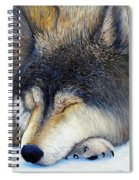 Wolf Dreams Spiral Notebook