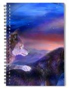 Wolf Mates Spiral Notebook