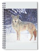 Wolf Of The North Spiral Notebook