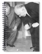Wolfgang Pauli And Niels Bohr Spiral Notebook