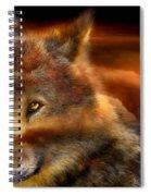 Wolfland Spiral Notebook