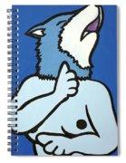 Wolve Spiral Notebook