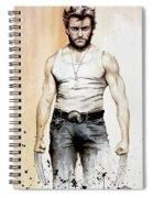Wolverine Spiral Notebook