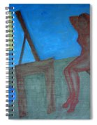 Woman After Bathing Spiral Notebook