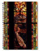 Woman And The Cross Spiral Notebook