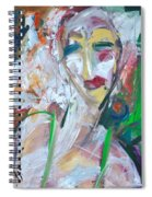 Woman At The Jazz Club Spiral Notebook