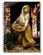 Woman Bearing Gifts For Jesus Our Savior Spiral Notebook