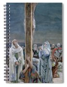 Woman Behold Thy Son Spiral Notebook