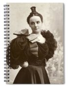 Woman, C1885 Spiral Notebook