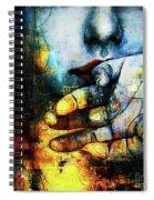 Woman Face Spiral Notebook