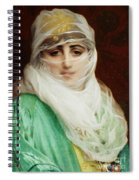 Woman From Constantinople Spiral Notebook