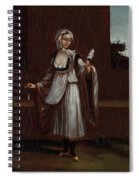 Woman From The Island Of Patmos Spiral Notebook