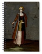 Woman From Tinos Spiral Notebook