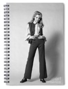 Woman In A Pantsuit, C.1960-70s Spiral Notebook
