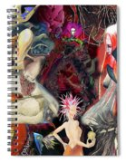 Woman In Love Spiral Notebook