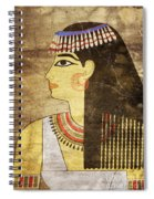 Woman Of Ancient Egypt Spiral Notebook