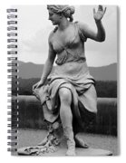Woman Sculpture Nc Spiral Notebook