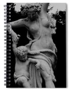 Woman Statue Spiral Notebook