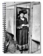 Woman: Voting, 1920 Spiral Notebook