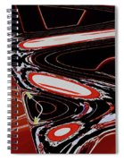 Woman Who Chirps Spiral Notebook