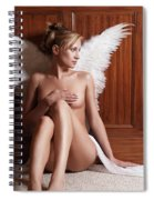 Woman With Angel Wings Spiral Notebook