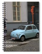 Woman With Umbrella Spiral Notebook