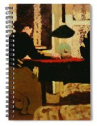 Women By Lamplight Spiral Notebook