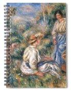 Women In A Landscape Spiral Notebook