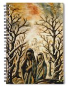 Women In Harmattan Spiral Notebook
