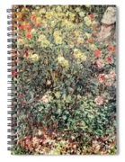 Women In The Flowers Spiral Notebook