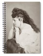 Womens Hairstyle Spiral Notebook