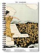 Womens Suffrage, 1915 Spiral Notebook