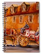 Wonderful Carriage Ride Spiral Notebook