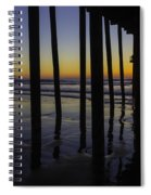 Wonderful Pismo Sunset Spiral Notebook