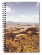 Wonderful West Coast Tasmania Views Spiral Notebook