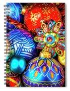 Wonderfully Beautiful Christmas Ornaments Spiral Notebook