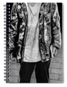 Wondering Soldier  Spiral Notebook