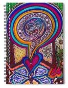 Wondering What's Next - V Spiral Notebook