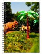 Wonderland 17 Spiral Notebook