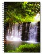 Wondrous Waterfall Spiral Notebook