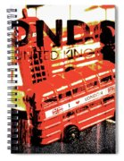 Wonders Of London Spiral Notebook