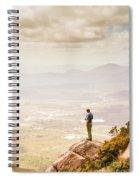 Wondrous Western Tasmania Spiral Notebook
