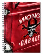 Wong's Garage Spiral Notebook