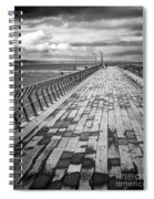 Wood And Pier Spiral Notebook