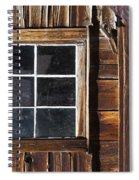 Wood And Window Spiral Notebook