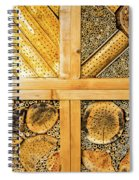 Insect Hotel #1 Spiral Notebook