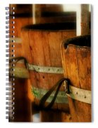 Wood Barrels Spiral Notebook