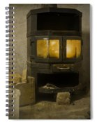 Wood Burning Stove Spiral Notebook
