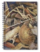 Wood Creatures Spiral Notebook