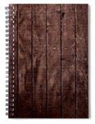 Wood Spiral Notebook